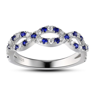 925 Sterling Silver Women's Engagement Ring