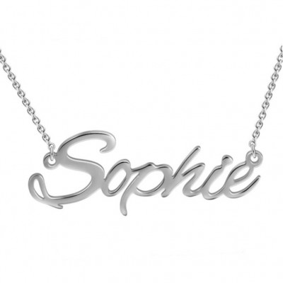 925 Sterling Silver Personalized Name Necklace