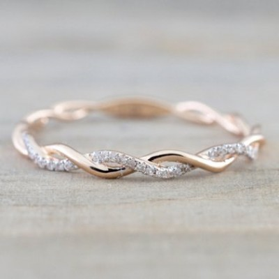 Simple Womens Wedding Band