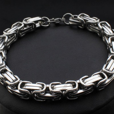 Cool Chain Design 925 Sterling Silver Bracelet