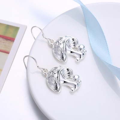 Lovely Mushrooms S925 Silver Earrings