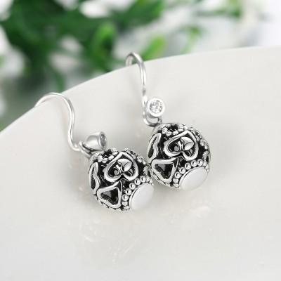 Elegant Hearts S925 Silver Earrings