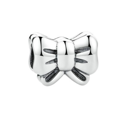 Bowknot Charm Sterling Silver