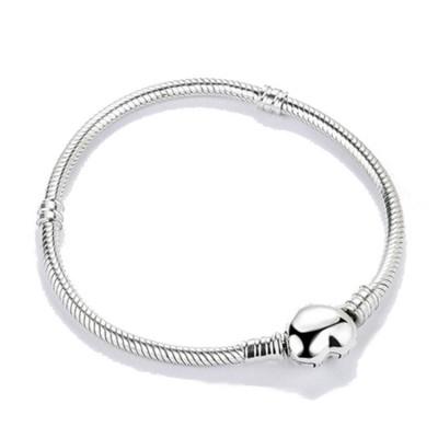 Heart Classic Bracelet Sterling Silver